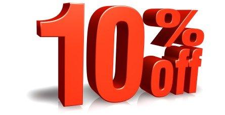 10%オフクーポンコード