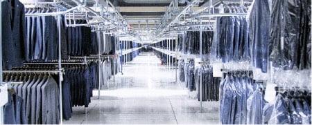 リネット保管の倉庫