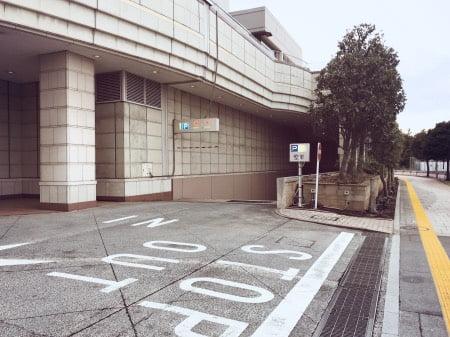 ヒルトンお台場の駐車場